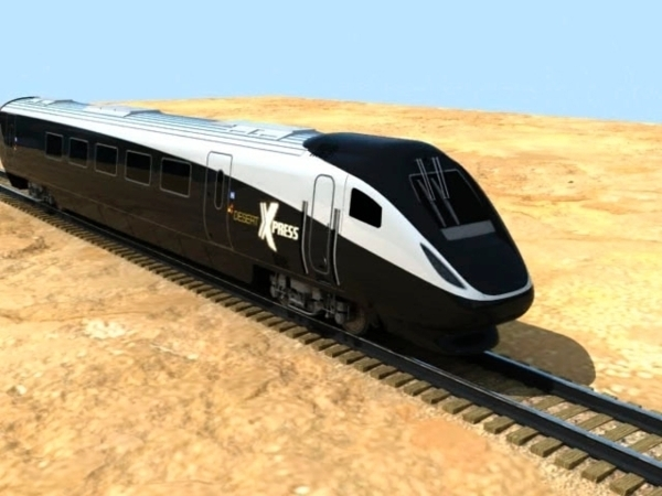 A new U.S.-China joint venture announced Thursday that construction would begin on the long-awaited high-speed rail link between Los Angeles and Las Vegas as early as September 2016, although a co ...