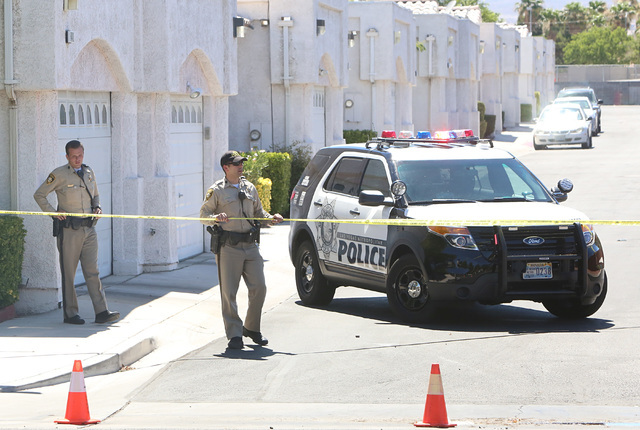 Las Vegas police responded to a barricade situation in the 6400 block of Little Pine Way, near North Torrey Pines Drive and West Smoke Ranch Road where a woman was said to have barricaded herself  ...