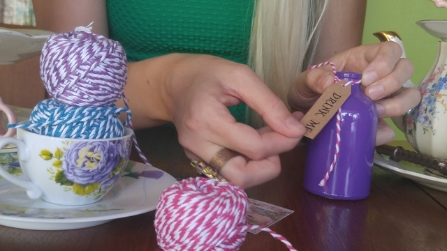 "Jamie Bennett makes ""Alice In Wonderland""-themed products inside her Las Vegas home July 1. Rocio Hernandez/View"
