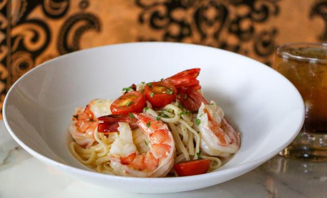 Shrimp scampi (courtesy Barrymore)