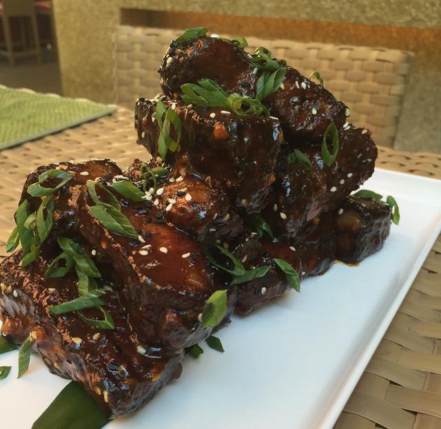 Stick garlic pork ribs (courtesy Station Casinos)