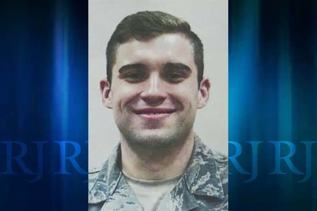 The body of Air Force Staff Sgt. Halex Hale was found in a river in Italy after he had been missing for more than a week. (Aviano Air Base via AP)