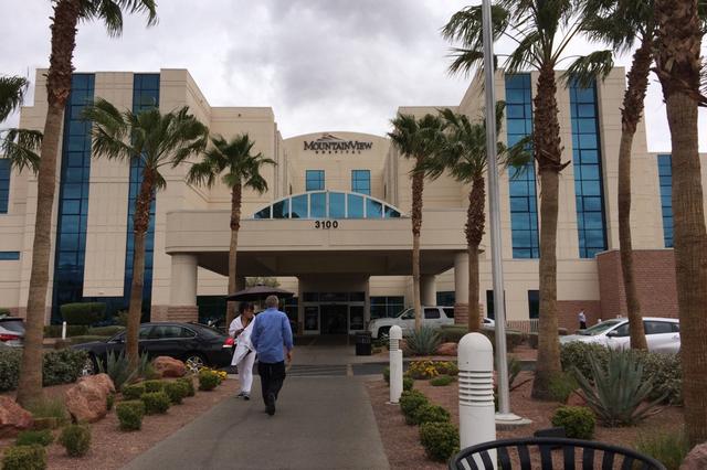 MountainView Hospital, 3100 N. Tenaya Way. (Jan Hogan/View)