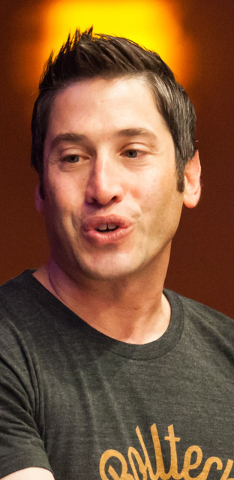 Rolltech Founder and CEO Rich Belsky. (Chase Stevens/Las Vegas Review-Journal)