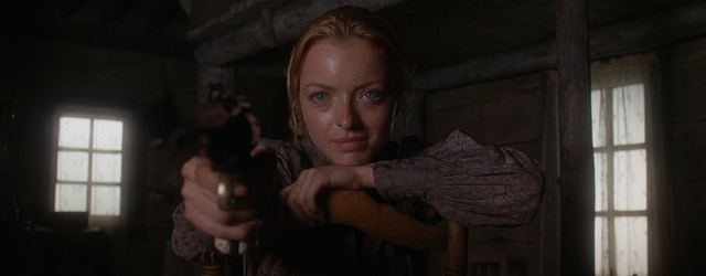 "Francesca Eastwood as Florence Tildon in the Western ""Outlaws and Angels."" Photo credit: Momentum Pictures"