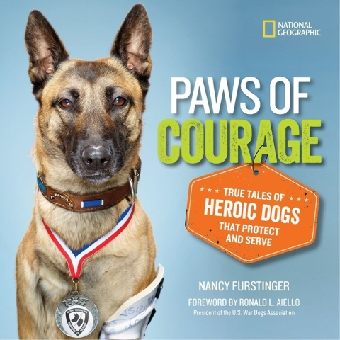 """""""Paws of Courage"""" shares true tales of heroic dogs that protect and serve. Special to View"""