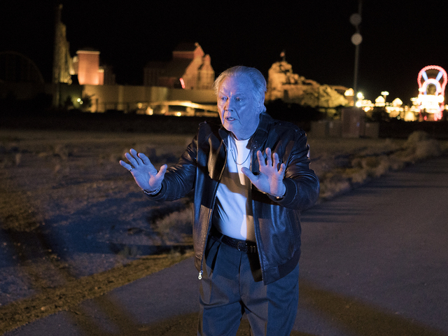 Jon Voight as Mickey Donovan is shown in Primm during an episode of RAY DONOVAN. Photo:  (Michael Desmond/SHOWTIME)