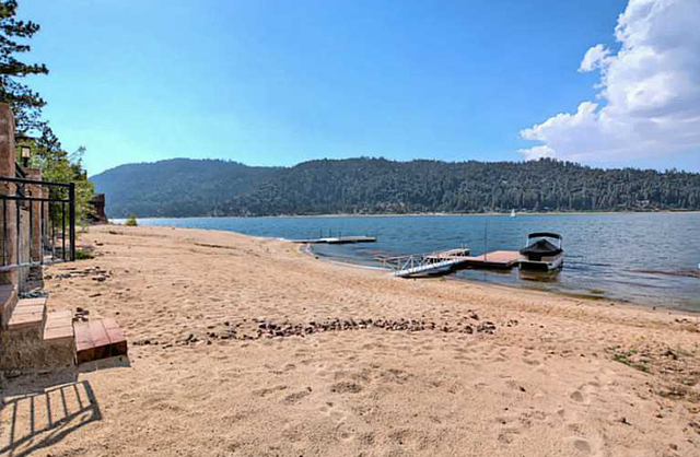 This is Big Bear cabin is on the lake. (Courtesy)