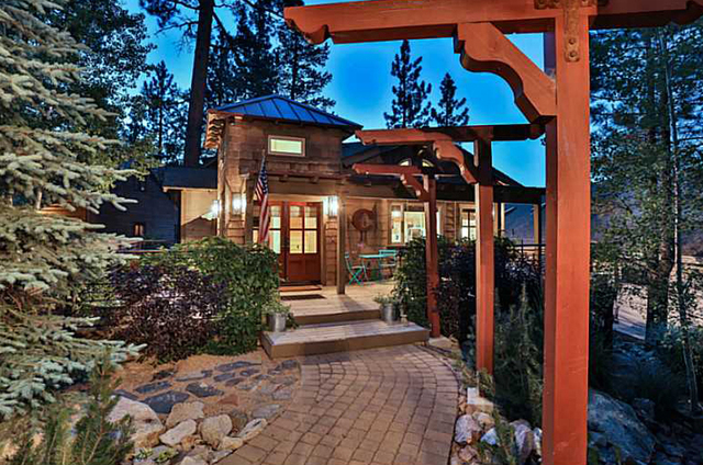 This Big Bear cabin is listed for $1.75 million. (Courtesy)