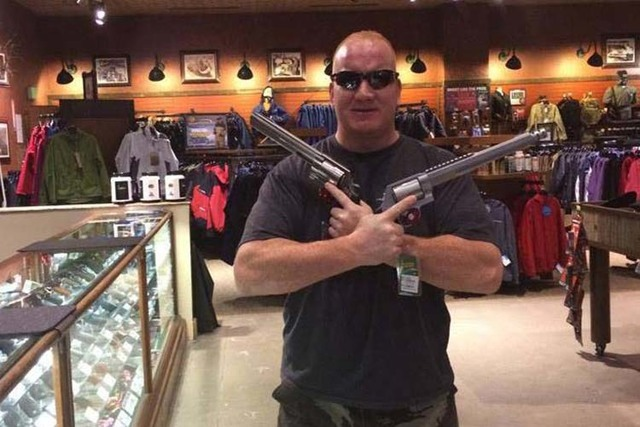 Richard Scavone was a Las Vegas police officer who was relieved of duty then fired over allegations that he had a violent confrontation with a woman suspected of prostitution. (Facebook)