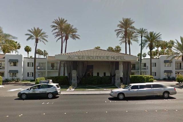 Rumor Boutique Hotel, 455 E. Harmon Ave. (Google Street View)