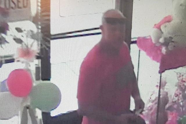 Robbery suspect. (Las Vegas Metropolitan Police)
