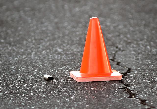 A bullet casing is seen as Las Vegas police investigate the scene of a shooting at 2204 W. Charleston Blvd. Monday, July 25, 2016, in Las Vegas. David Becker/Las Vegas Review-Journal Follow @david ...