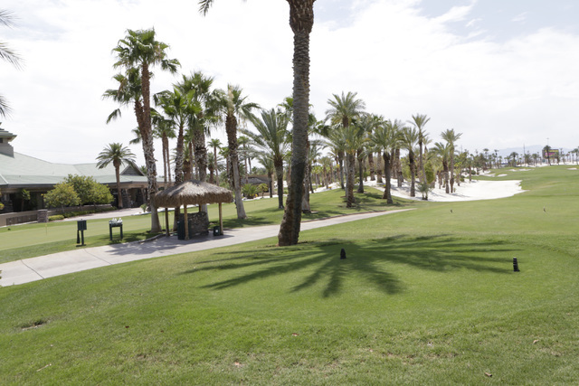 The Bali Hai Golf Club in Las Vegas is seen on Thursday, July 28, 2016. The Golf Club has emerged as a potential site for a 65,000-seat domed stadium, joining four other sites as leading locations ...