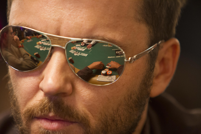 Prahlad Friedmen, of Venice, Calif., competes during Day 4 of the Main Event of the World Series of Poker at the Rio Convention Center in Las Vegas on Friday, July 15, 2016. Richard Brian/Las Vega ...
