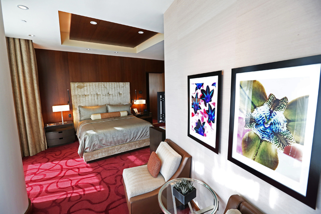 The Aria Sky Suites at Aria hotel-casino Thursday, March 17, 2016, in Las Vegas. Benjamin Hager/Las Vegas Review-Journal follow @benjaminhphoto