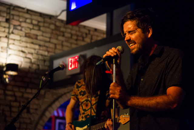 Las Vegas band Rusty Maples performs during the first night of the SXSW music festival in downtown Austin, Texas, on Tuesday, March 15, 2016. Chase Stevens/Las Vegas Review-Journal Follow @cssteve ...