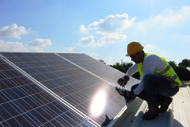 Solar Panel Glare Too Much For Neighbor Las Vegas Review