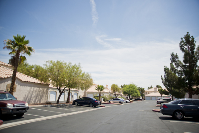The neighborhood where Jason Dej-Oudom killed himself and his three children on Wednesday night is seen on Friday, July 1, 2016. Dej-Oudom also shot and killed his wife at a nearby Walgreens. Dani ...
