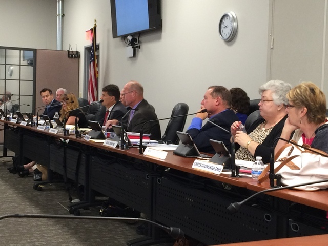 The Southern Nevada Health District's Board of Health, chaired by Las Vegas City Councilman Bob Beers and including Rod Woodbury, Lois Tarkanian, Richard Cherchio, Clark County Commissioner Chris  ...