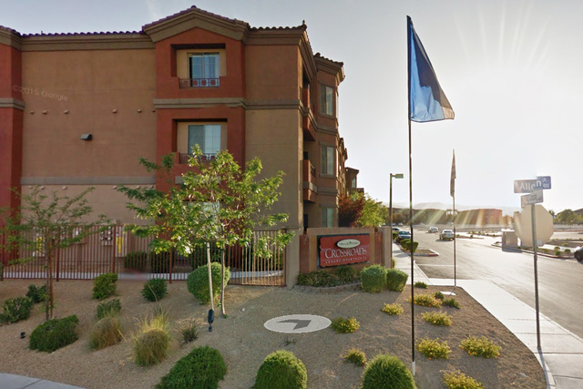 Trellis Park Crossroads apartment complex (Google Street View)