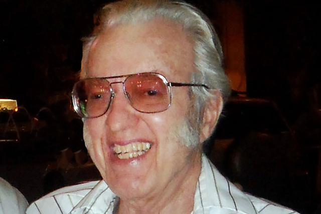 Harold Bellanger, who led the family-owned Anderson Dairy in Las Vegas for decades before his June 14 death at 89 from pancreatic cancer, is shown in this 2015 photo. Courtesy, Chelsey Finlayson
