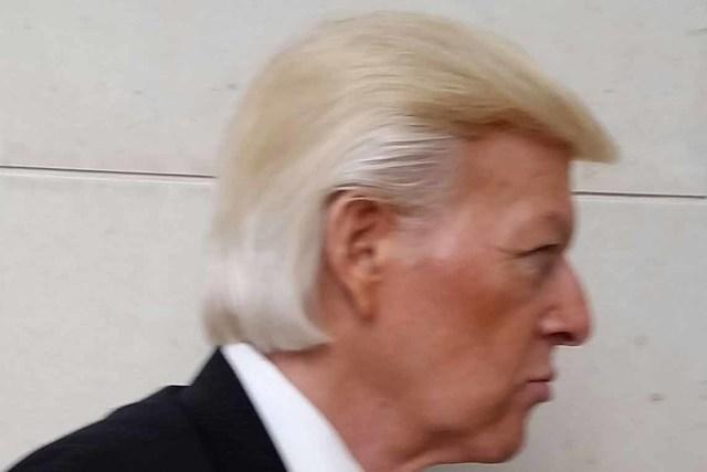 Robert Ensler is a Donald Trump impersonator. (DonaldTrumpOne.com)