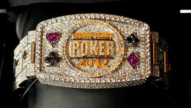 2012 WSOP Main Event Bracelet