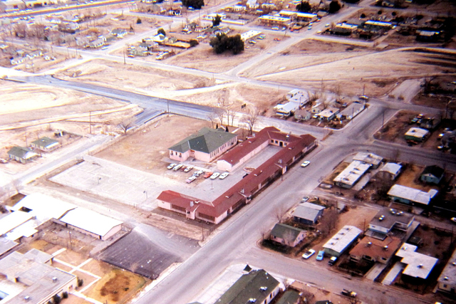 Westside School in Las Vegas, February 1969. (Courtesy City of Las Vegas)