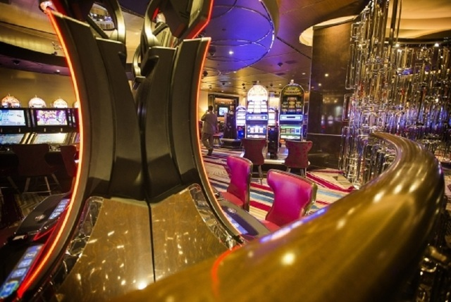 A high-limit area is seen at The Cosmopolitan of Las Vegas, Dec. 22, 2015. The hotel is planning new upper-end penthouse suites and a private gaming salon. (Jeff Scheid/Las Vegas Review-Journal)