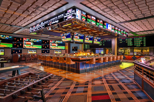 The Race & Sportsbook at The Cosmopolitan of Las Vegas.
