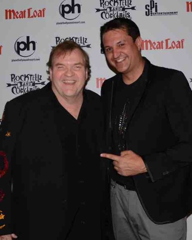 Meatloaf and Doug Leferovich.