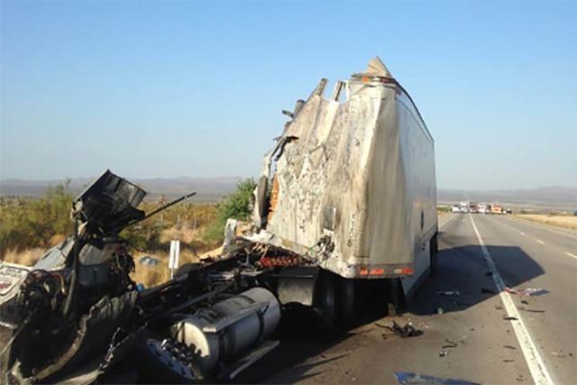 Fatal crash south of Nevada-California state line closes some