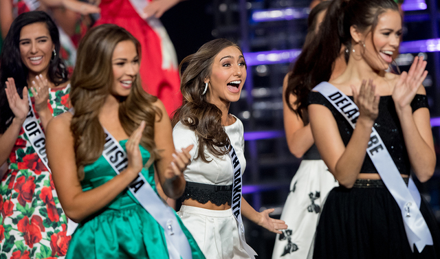 The 2016 Miss Teen USA Pageant on Saturday, July 30, 2016, at The Venetian Theater. (Tom Donoghue)