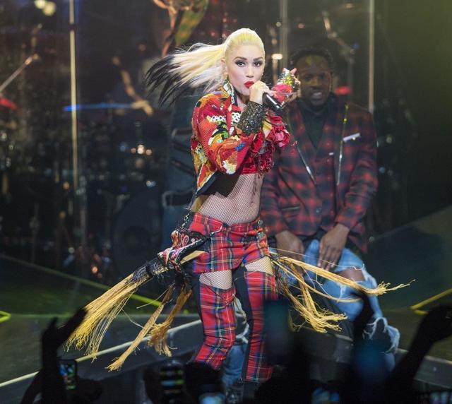 Gwen Stefani headlines T-Mobile Arena on Friday, Aug. 19, 2016, in Las Vegas. (Tom Donoghue)