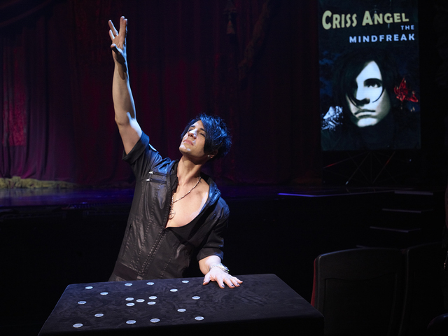 "Criss Angel's 'Mindfreak Live!"" at The Luxor on the Las Vegas Strip."