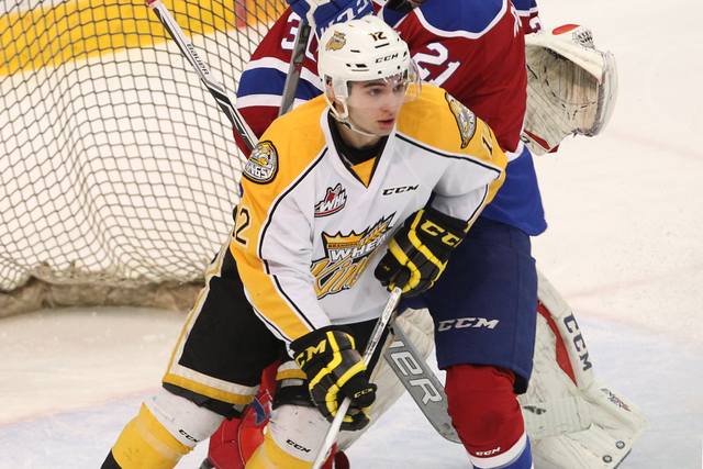 Stelio Mattheos of the Brandon Wheat Kings will be playing for Team Canada in the upcoming Ivan Hlinka Memorial Cup tournament in the Czech Republic. He played for Kelly McCrimmon who will be scou ...
