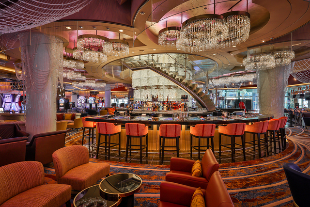 Renovated chandelier debuts at the cosmopolitan las vegas review the renovated first level of chandelier at the cosmopolitan of las vegas erik kabik aloadofball Gallery