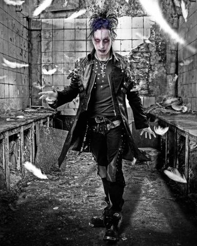Magician Dan Sperry.