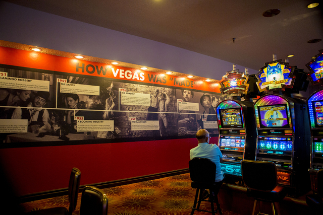 A man plays a game inside of Whiskey Pete's hotel-casino on Tuesday, Aug. 23, 2016, in Primm, Nevada. Elizabeth Page Brumley/Las Vegas Review-Journal Follow @ELIPAGEPHOTO