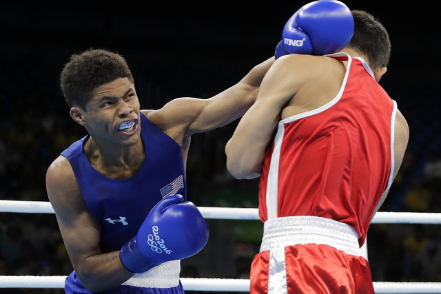 Floyd Mayweather Jr Welcomes Olympic Boxer Shakur Stevenson To - Olympic boxing schedule