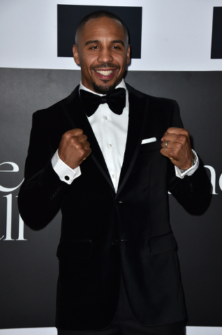 Andre Ward attends the 2nd Annual Diamond Ball at The Barker Hangar on December 10, 2015 in Santa Monica, Calif. (Photo by Jordan Strauss/Invision/AP)