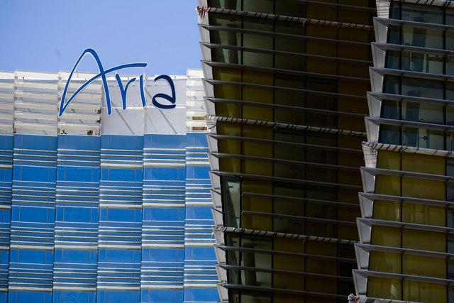 Aria in CityCenter on the Las Vegas Strip (Jeff Scheid/Las Vegas Review-Journal file)