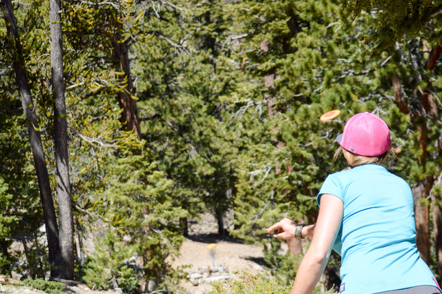 Lee Canyon at Mount Charleston hosted its annual Birdies & Beers disc golf competition and beer festival July 23, 2016. Visit leecanyonlv.com. Special to View