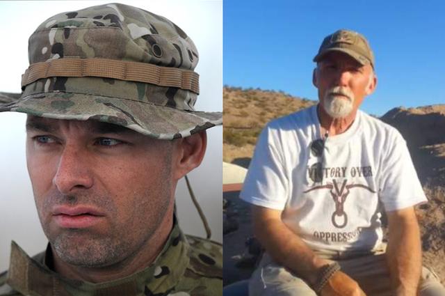Blaine Cooper, 37, and Gerald DeLemus, 61. (YouTube)