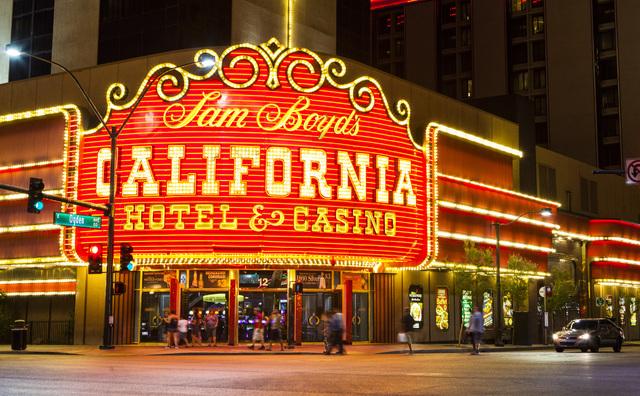 The California hotel-casino is shown in downtown Las Vegas on Wednesday, Aug. 3, 2016. Miranda Alam/Las Vegas Review-Journal Follow @miranda_alam