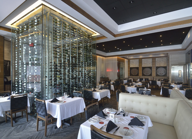 Part Of The Interior Fogo De Chão A Brazilian Steakhouse Is Shown In Downtown