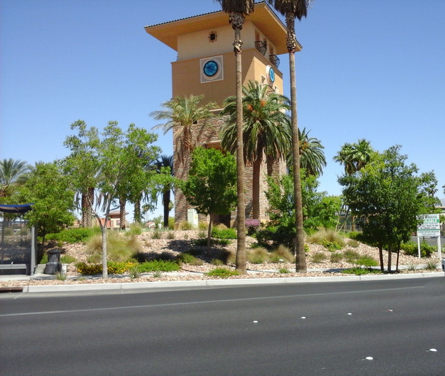 Last October, Durango I-95 LLC, a Los Angeles development company, purchased Caroline's Court at the corner of North Durango Drive and North El Capitan Way for $14.5 million. The commercial cent ...