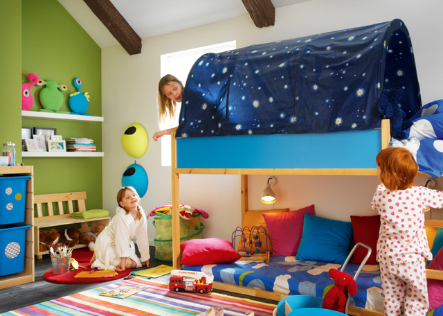 Courtesy Ikea The Kura Bed Canopy Gives Privacy And Creates A Room In Feeling Las Vegas Review Journal