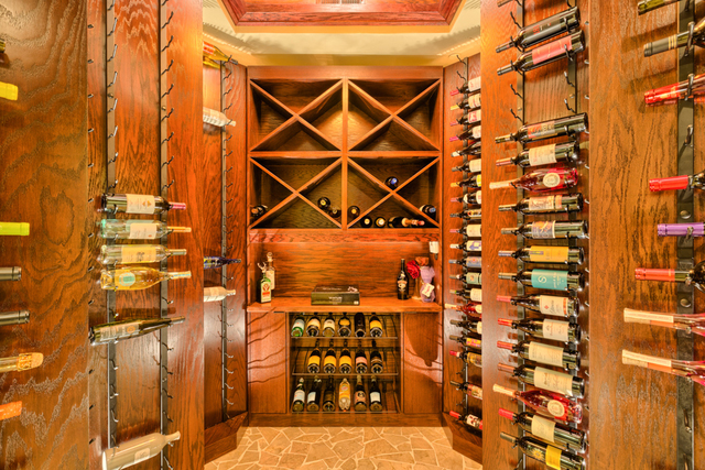 The wine cellar. (Courtesy)